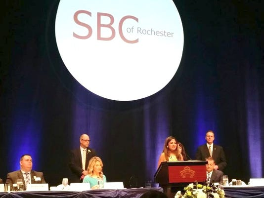SBC 2015 Rochester Business Person of the Year Award