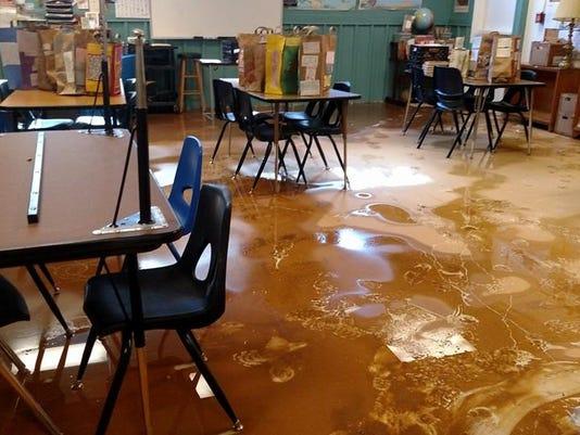 ArtSpace flood damage (2)