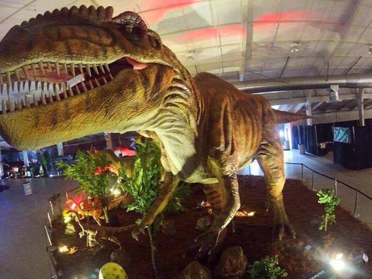 Jurassic Quest returns to Springfield to fill the Expo Center with life-size animatronic dinosaurs.