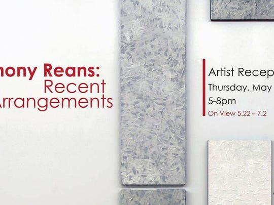 Hear about Shreveport artist Anthony Reans' Recent Arrangements at his exhibit of the same name 5-8 p.m. Thursday at The Agora Borealis.