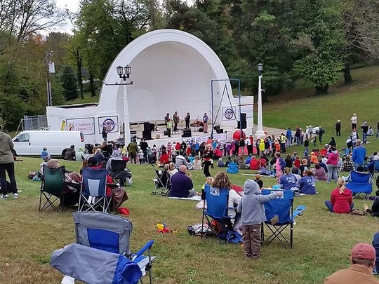 Enjoy music by the Kentucky Symphony Orchestra at Devou Park.