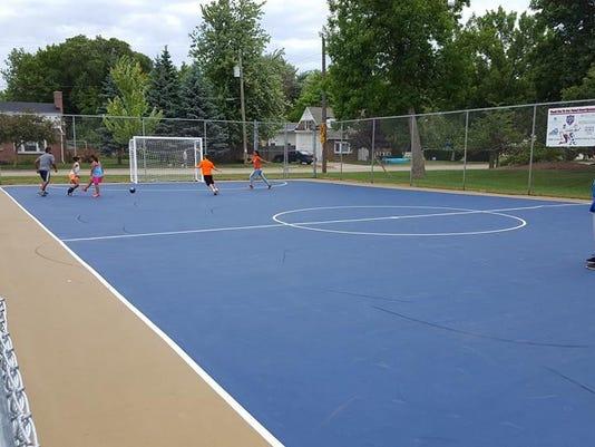 Futsal court Menasha