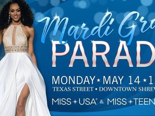 Miss USA parade