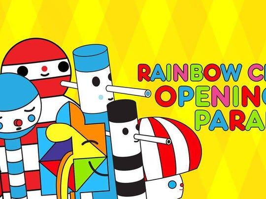 Rainbow City parade