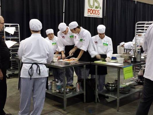 Rapids Culinary team
