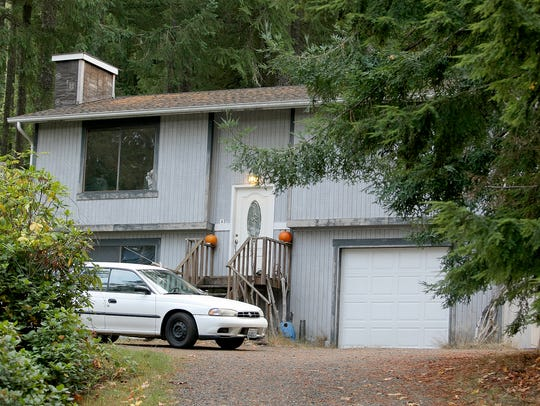 The house on Symes Road in  Central Kitsap where the