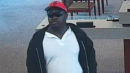 Investigators with the FBI Indianapolis are asking for the public's assistance in identifying this man, believed to have robbed five area banks in Central Indiana since June 11, 2018.