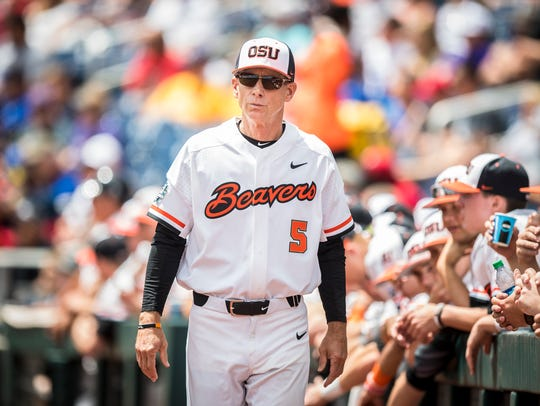 OSU coach Pat Casey has the Beavers in the College