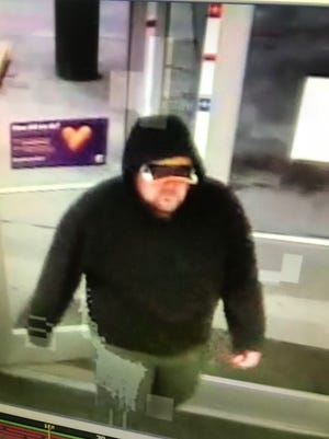 Security camera footage of an armed robbery suspect at the Pilot Travel Center in Pine Grove early Tuesday morning, July 17, 2018.