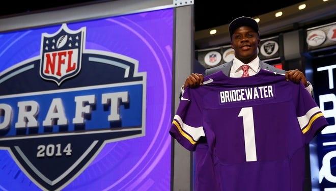 The Vikings rescued Teddy Bridgewater at the bottom of the first round.