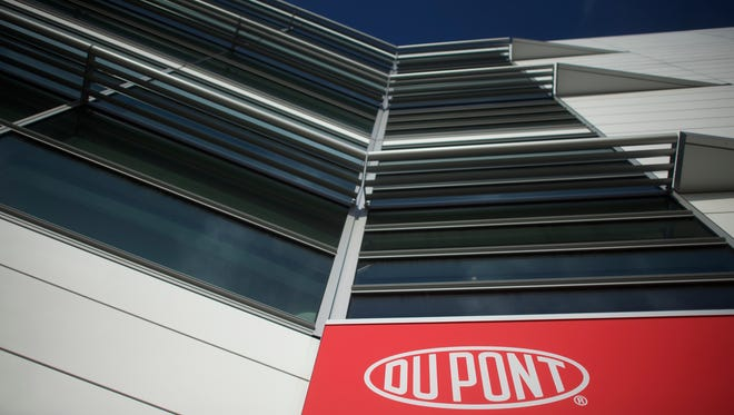 DuPont corporate headquarters in Wilmington on Dec. 11, 2015.