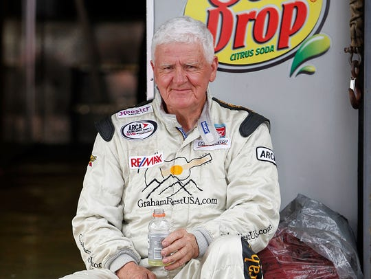James Hylton during a NASCAR Xfinity Series race at