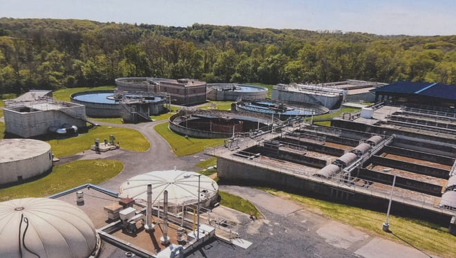 A dedication ceremony was held at J. Hase Mowrey Regional Wastewater Treatment Facility in Chambersburg on Monday, October 16, 2017.