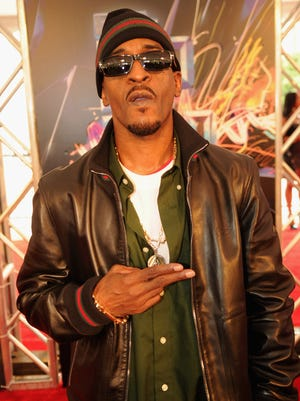 Rakim, pictured attending the 2012 BET Hip Hop Awards in Atlanta.
