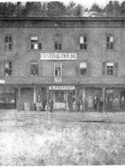 Throughout Milton's history the annual town meeting was held various places such as people's homes, private stores and official town houses or offices. Central House, located on River Street (modern day U.S. 7), was one of those places. The building burned in the late 1800s.