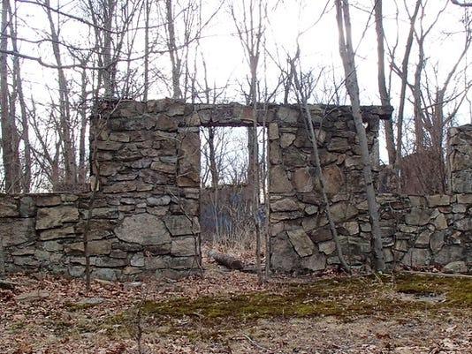 German Bund camp remnants
