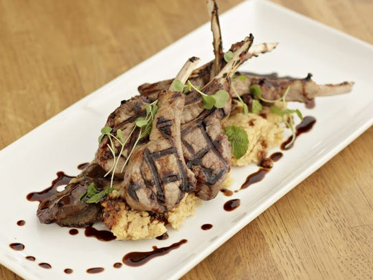 The grilled lamb from Virtu in Scottsdale.