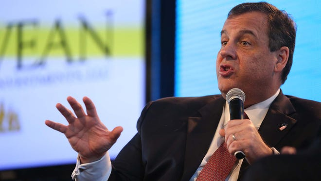 New Jersey Gov. Chris Christie got his start in politics as a volunteer in the 1977 New Jersey governor's race.
