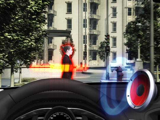 The 2015 Volvo S60 takes safety further with a pedestrian and cyclist detection system that can completely stop the car if you don't.
