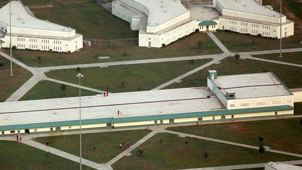 The maximum-security Lee Correctional Institution near Bishopville, S.C., is seen Sept. 7, 1999.