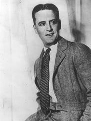F. Scott Fitzgerald is shown in this undated portrait.