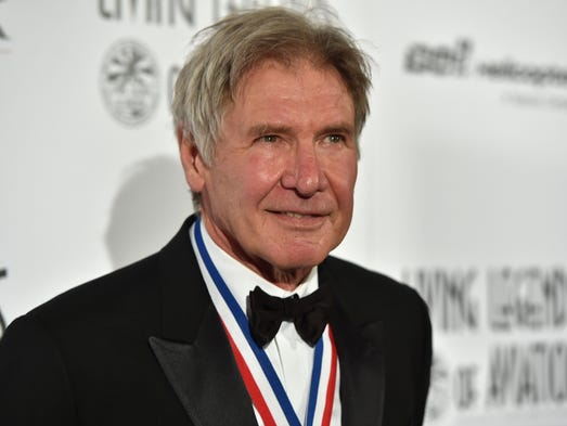 Harrison Ford, actor and pilot, attends the Annual