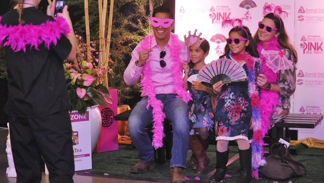 More than 800 attended Kaweah Delta Health Care District's annual Pink Tea Party on Sunday, Oct. 22, 2017.