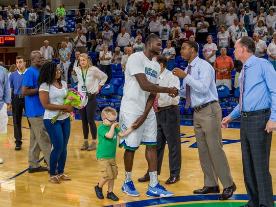 Despite being with the Eagles for only a year, FGCU