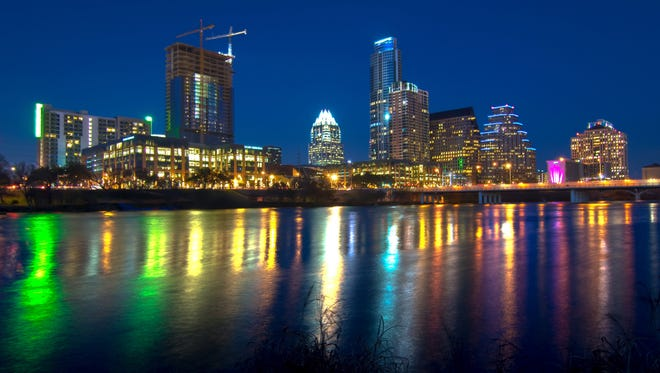 Austin, the nation's 15th largest city, is among the U.S. cities that will see the greatest economic growth in 2014, according to a U.S. Conference of Mayors report.