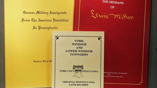 Books about the Hessians.