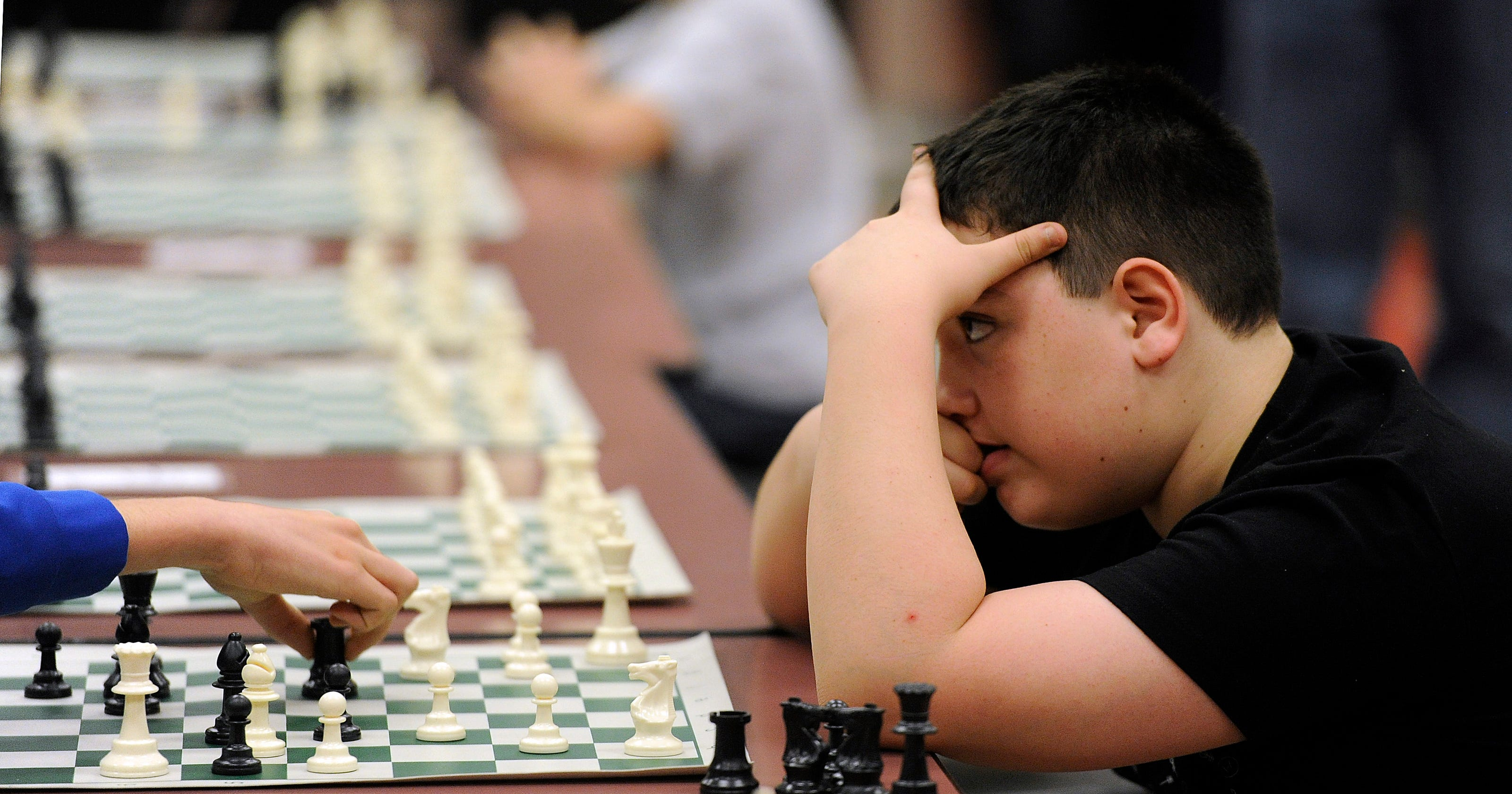 Students compete at 20th Scholastic Chess Tournament