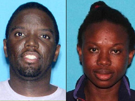Patrick Lambert, left, is considered a person of interest