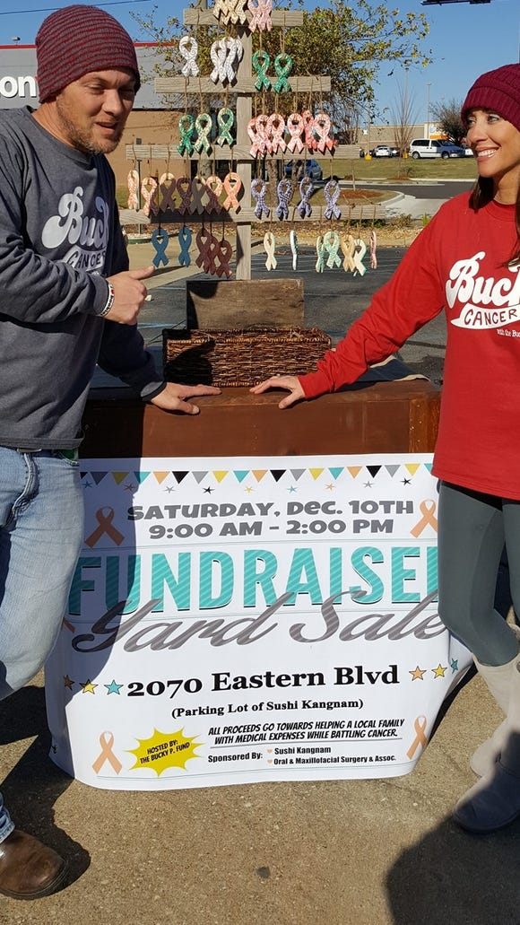 Chase and Kari Patterson organized a fundraiser for Kari Patterson's mother, who is battling cancer.