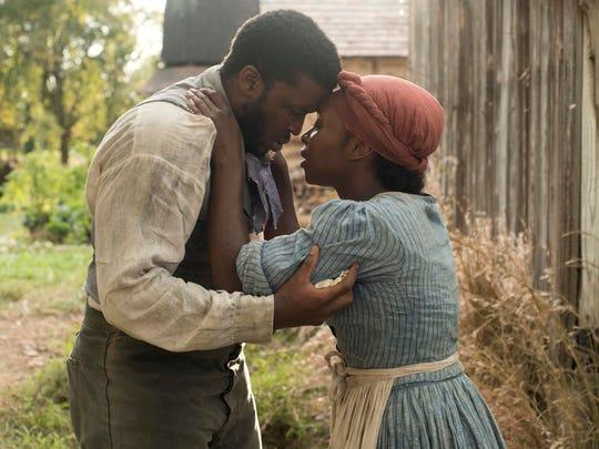 "Zackary Momoh and Cynthia Erivo in""Harriet."""
