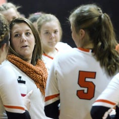 Volleyball team opens season ranked fifth in state