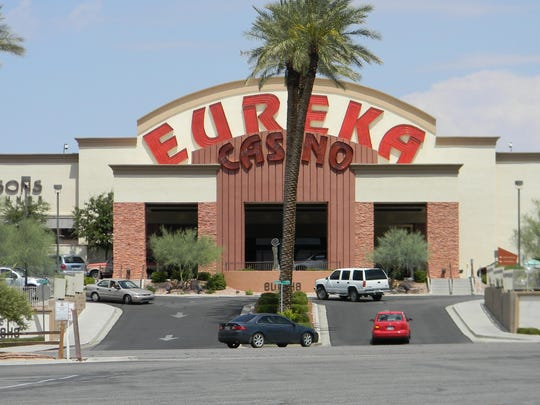 The Eureka Casino is one of a handful of Mesquite casinos closed by restrictions set by the Nevada Gaming Control Board due to the COVID-19 coronavirus.