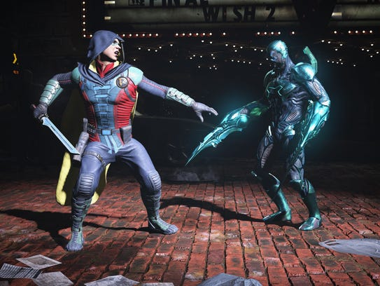 A scene from 'Injustice 2.'