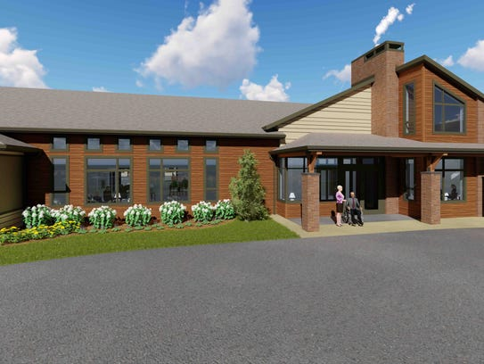 A rendering of the new Laurel Grove Assisted Living