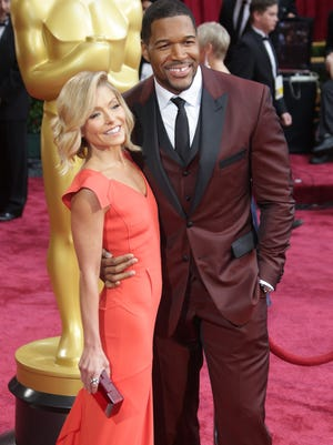 Ripa was absent when Michael Strahan's impending departure was discussed on 'Live.'