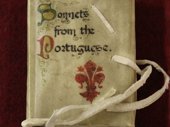 """Unique in the collection is this edition of """"Sonnets"""