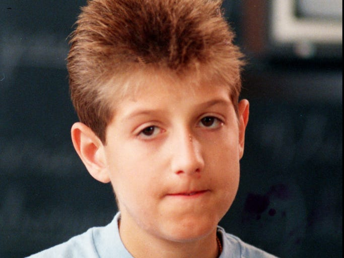A high school that embraced Ryan White, shown in this 1988 file photo, after another school had tried to ban him was among the winners of an award for AIDS education from the Ryan White Foundation.