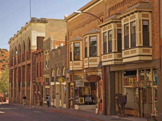 Allow yourself plenty of time to poke around in Bisbee,
