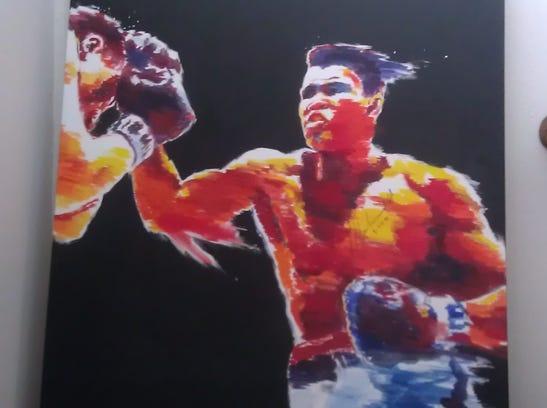 B&G Club Ali painting