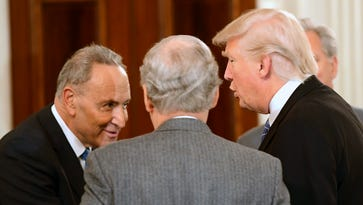 Sen. Chuck Schumer 'worries' when it comes to Trump and facts