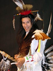 Menominee and Potawatomi dancer Art Shegonee will demonstrate traditional dance Saturday, Sept. 26, at Marsh Haven Nature Center's annual Fall Living History Festival.
