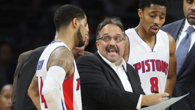 Detroit Pistons team president Stan Van Gundy must make moves with an eye toward the future.