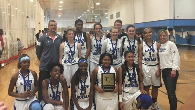 The WNC Lady Royals 10th grade basketball team won the Under Armour Southeast regional tournament earlier this month in Greensboro.
