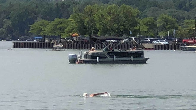 This may be another day to beat the heat by taking a dip in Canandaigua Lake.