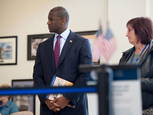 Tallahassee Mayor Andrew Gillum, who announced a run