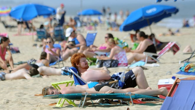 People with light skin and red or blond hair are more susceptible to skin cancer.